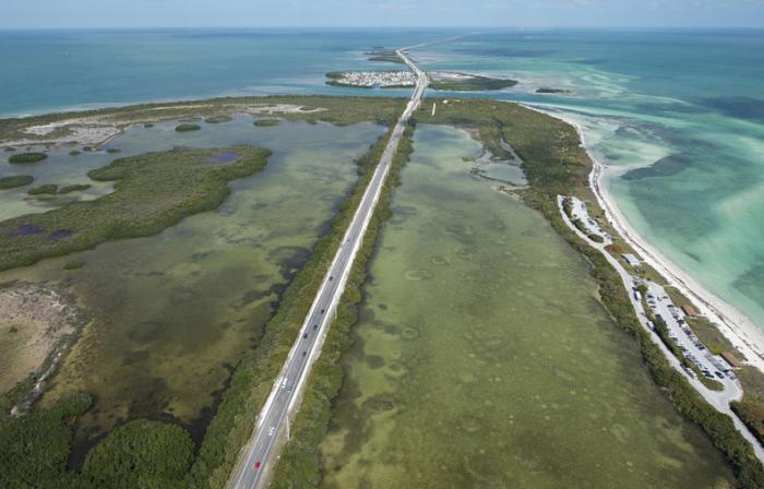 De Overseas Highway in Florida. © ap