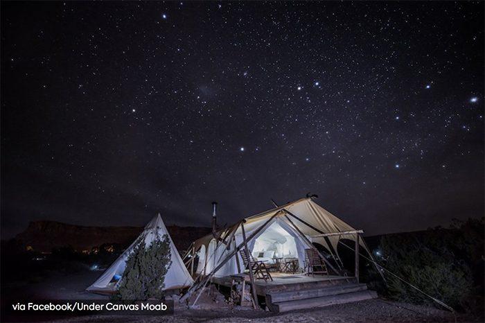 Luxe kamperen in Zion? Het kan nu!