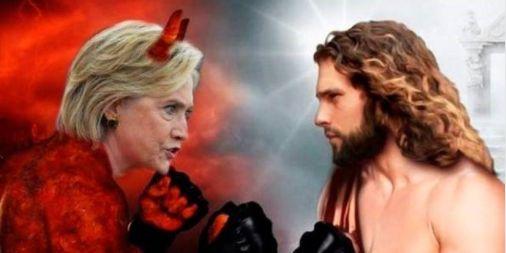 waar rook is... - propaganda US elections 2016