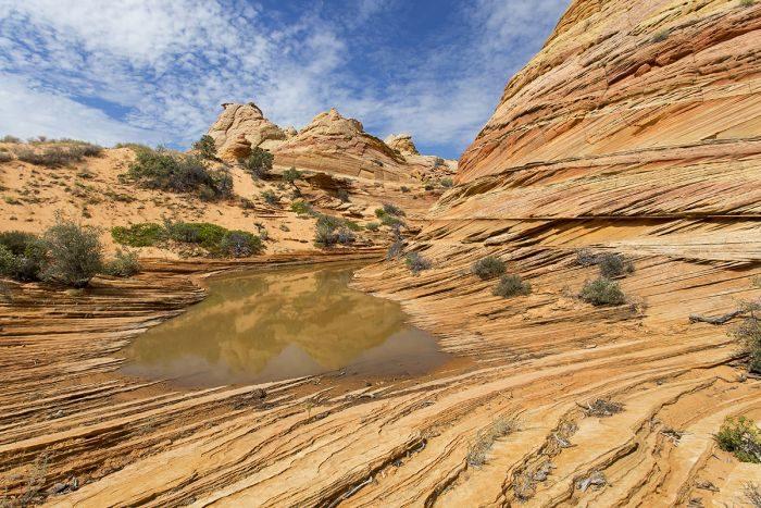 South Coyote Buttes - Diversiteit aan vormen en kleuren - Een prachtig kleurrijk gebied gelegen in het Vermillion Cliffs National Monument.